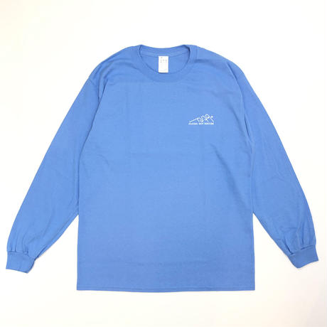 FLYING SOY SAUCER*I want to believe Long Sleeve Tee*CA BLUE