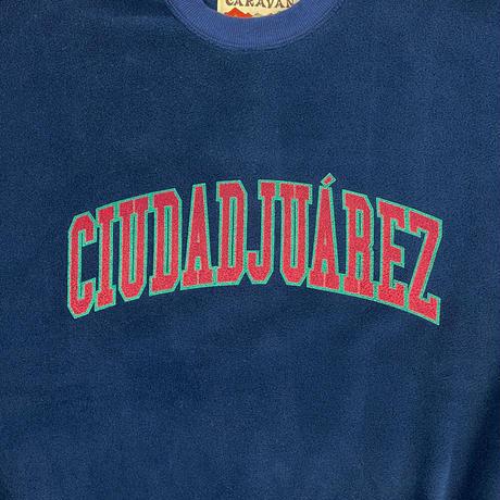 CARAVAN*CIUDAD JUAREZ Fleece Crew Neck