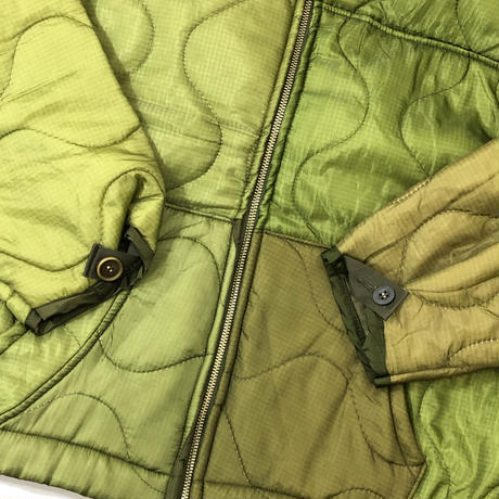 GILET*US ARMY M-65 quilting liner Zipup Parker*#3