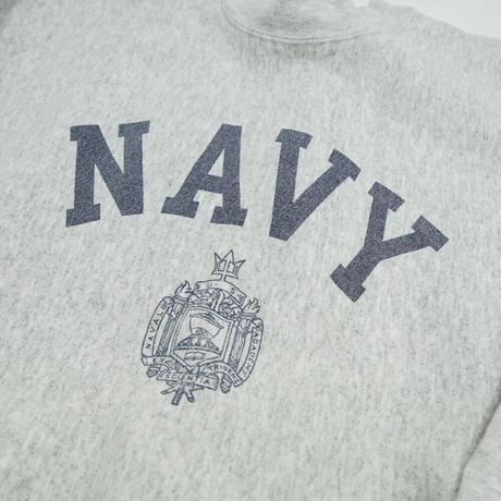"USED R/W CREW SWEAT Re-Print ""NAVY"""