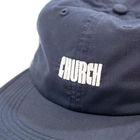 CHURCH BARBER*LOGO CAP*NAVY