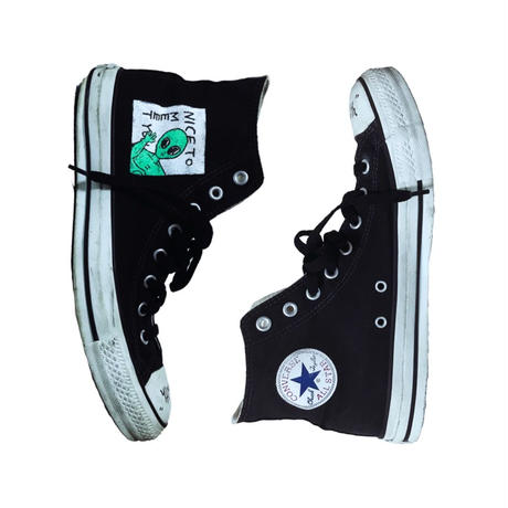 CONVERSE BLACK-OUT INVADED HEALTH