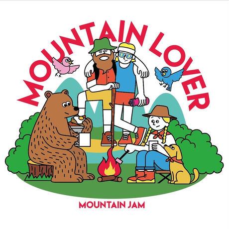 MOUNTAIN LOVER  T-shirt Basic DRYCOTTONY Beige