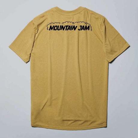 MOUNTAIN LOVER  T-shirt Basic DRYCOTTONY  Coyote Yellow