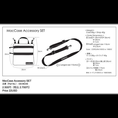 MacCase Accessory SET【受注生産品 現在:納期7日程】