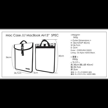"""MacCase/現行Mac Book Air 13"""" 【受注生産品 現在:納期4日程】"""
