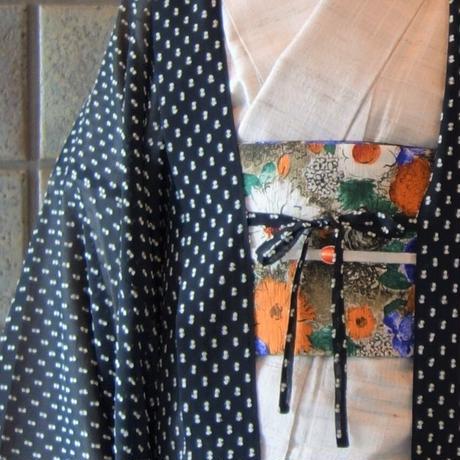 薄羽織「シフォンドット/クロ」