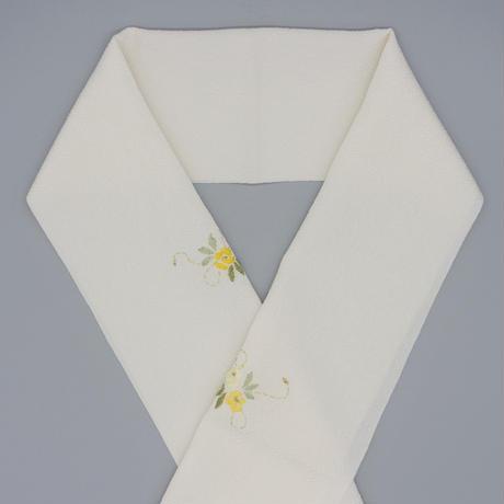 刺繍半衿「バラ」