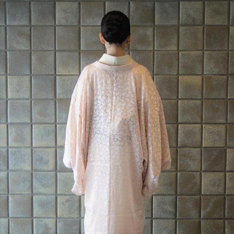 薄羽織「オパールフラワー/ピンク」