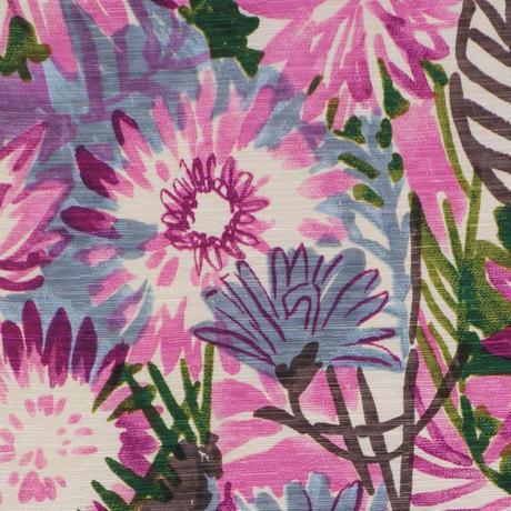 半巾帯「花壇」