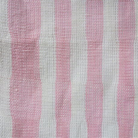 半巾帯「生平ピンク縞」