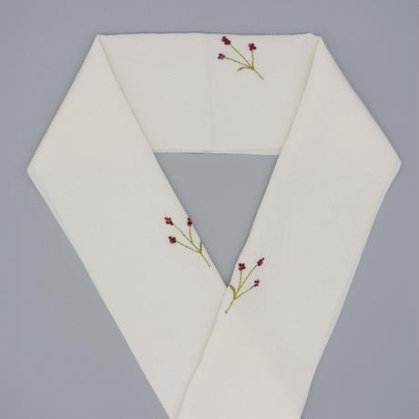 刺繍半衿「ワレモコウ」