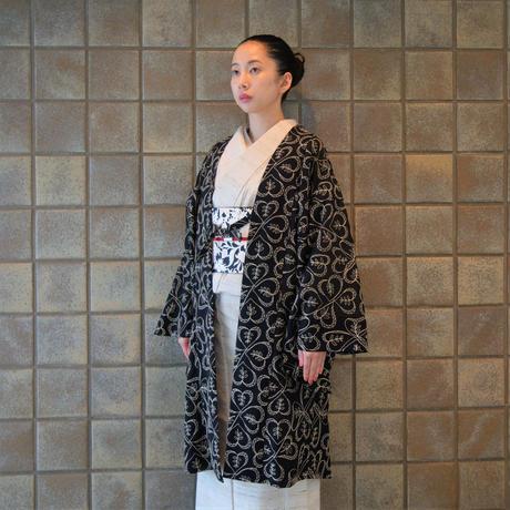 変わり羽織(単衣)「ウール刺繍」