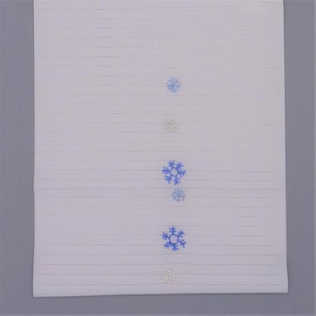 夏半衿「雪の結晶」