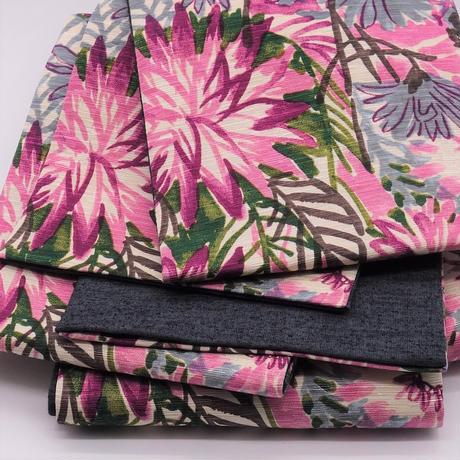 半巾帯「花壇/ピンク」