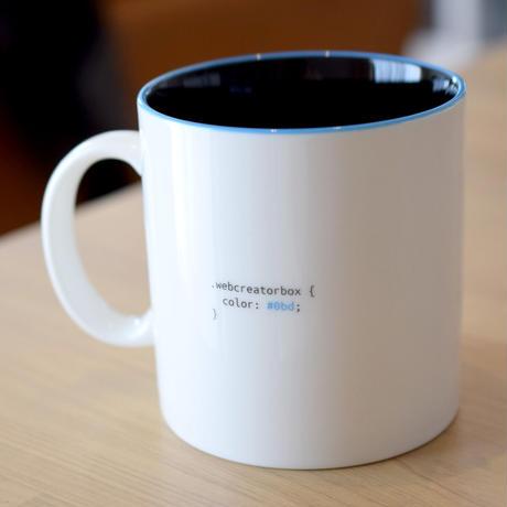 WCBロゴ マグカップ