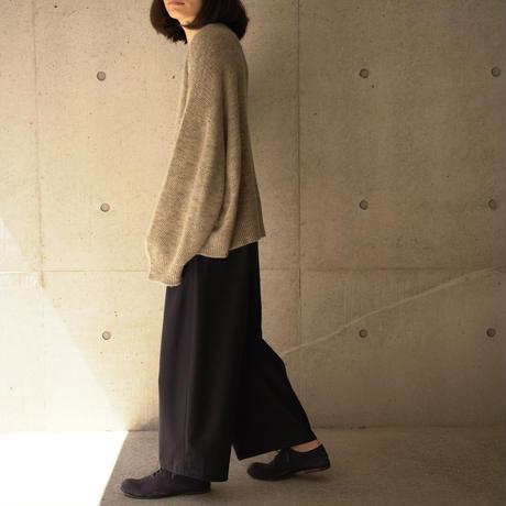 kanata blend knit 長袖