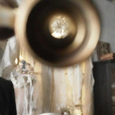 マザーオブパールのオペラグラス