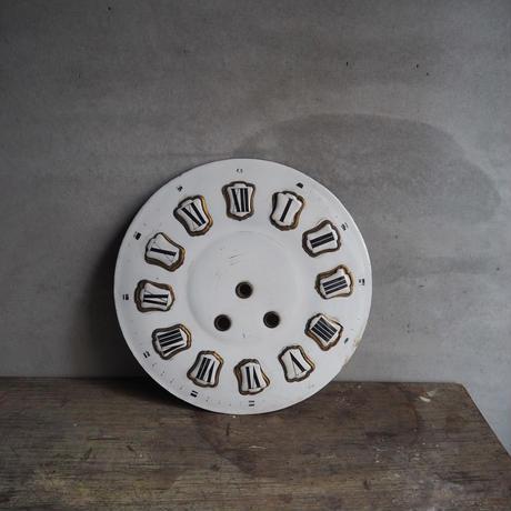 un cadran d'horloge