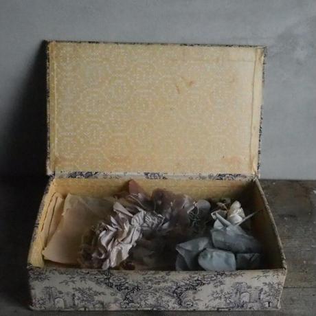 la boîte  de fleurs