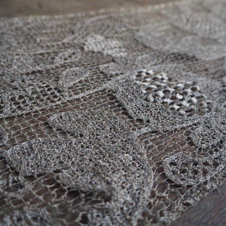 antique metal  lace