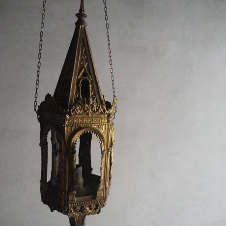 古の教会のランタンobjet