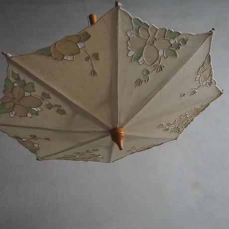 une  ombrelle en dentelle pour poupée