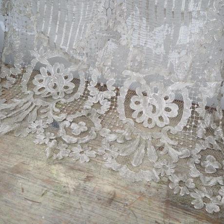 antique metal lace L