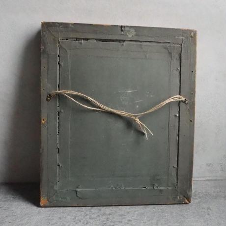 un cadre brodé  L