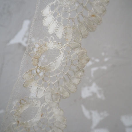 antique silk lace