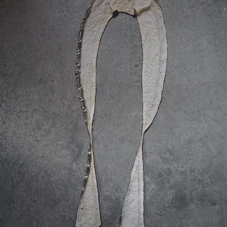 le collier brodé perles art déco
