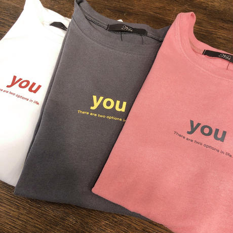 YOU Tシャツ