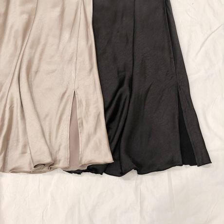 マットサテンマーメイドスカート