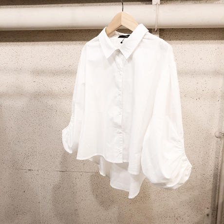 ボリュームスリーブシャツ