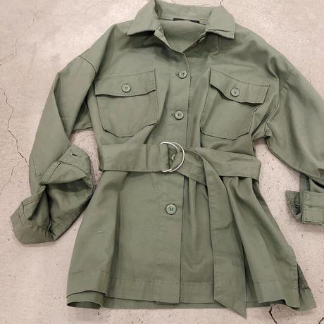 ミリタリー  シャツジャケット