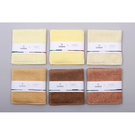COEDO × WATANABE PILE beer-dye towel handkerchief  各種
