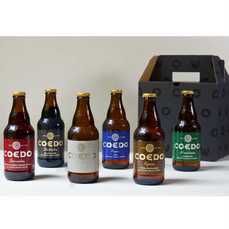 COEDO 瓶6本入りギフトセット(送料込)【クール便】