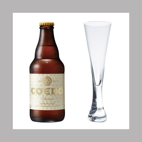 "Sghr × COEDO The Beer Series ""haku ハク for 白-Shiro-"""