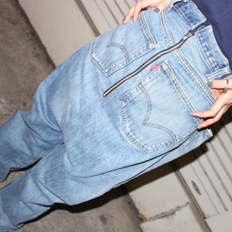 【TAG DOES NOT MAKE YOU】Back front DENIM ③
