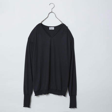 【 Aquvii Wardrobe 】aq21aw01_BOTH LONG SLEEVE