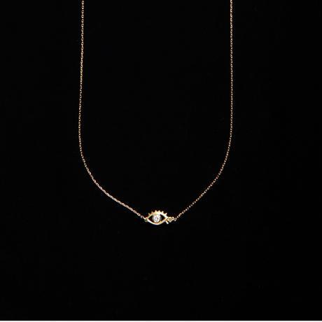【Aquvii JEWEL】Eye stone necklace / 4月 ダイヤモンド