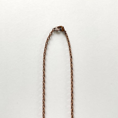 Initial coin series (Necklace / Pink Gold)