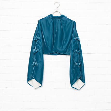 【Aquvii Wardrobe】VELVET CORCH JACKET / ROYAL BLUE