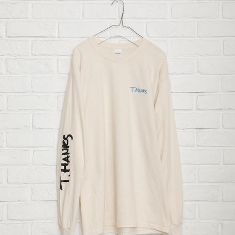 即売【TAG DOES NOT MAKE YOU】T.HANKS backprint long T