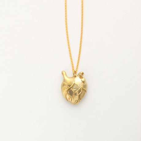 Heart attack necklace