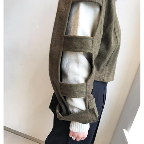 French ARMY 50's LINER JACKET ( Brown button ) / TAG DOES NOT MAKE YOU