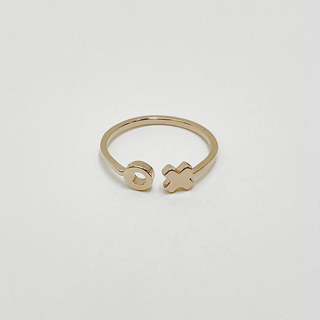 Kisshug ring