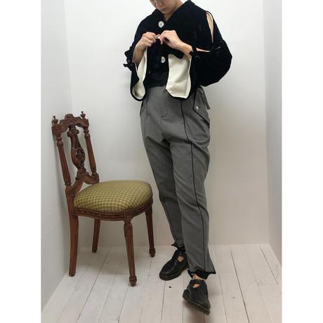 【Aquvii Wardrobe】VELVET CORCH JACKET / NAVY
