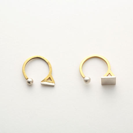 3 shapes ring (Skinny)