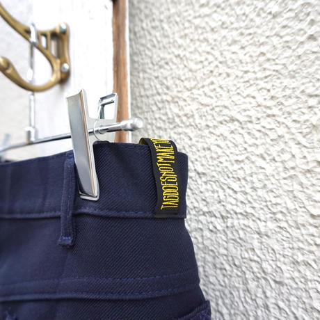【TAG DOES NOT MAKE YOU】Slacks PANTS / Navy①